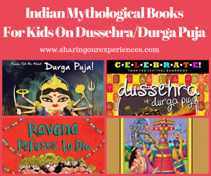 Handpicked Indian mythological Books About Dussehra and Durgapuja for Your Kids | #Vijayadashami #Dussehra #Kidlit #Childrensbooks