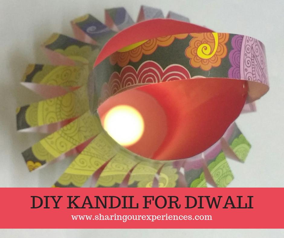 Diwali Kandil, paper Lantern, DIY Kandil for Diwali