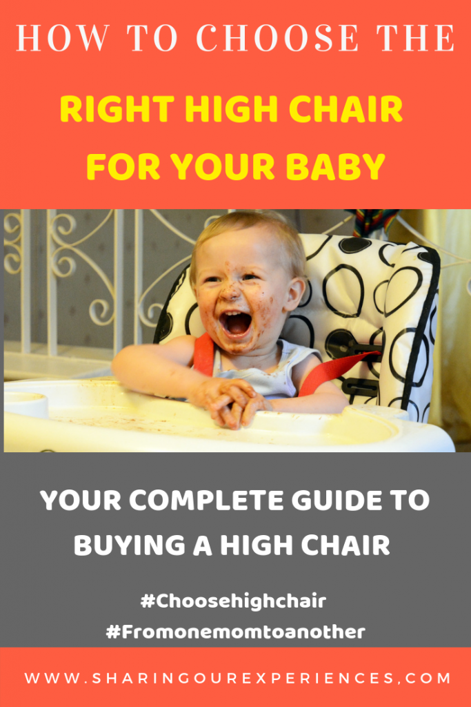 How to choose the right high chair for your baby. Complete guide to buying high chairs