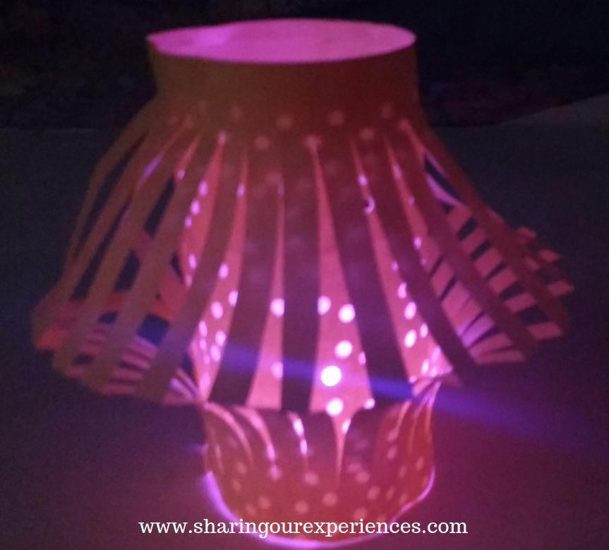 How to make DIY punched paper Lantern
