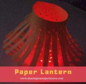 Punched Paper Lantern Tutorial