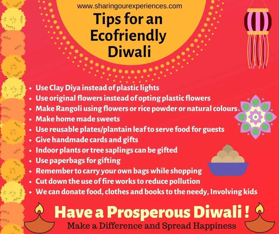 Tips for eco friendly Diwali