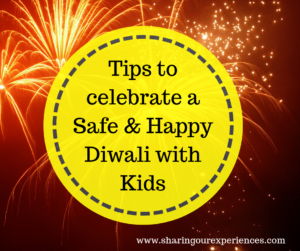 Tips to have safe diwali with kids