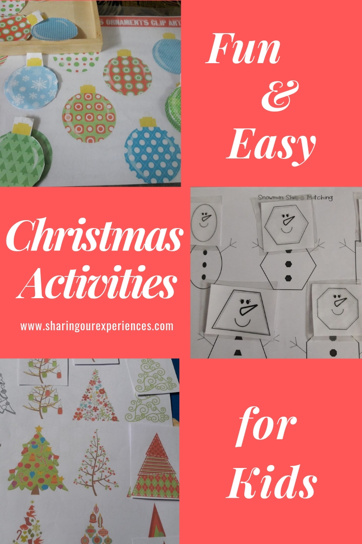 fun n easy christmas activities for kids_pin