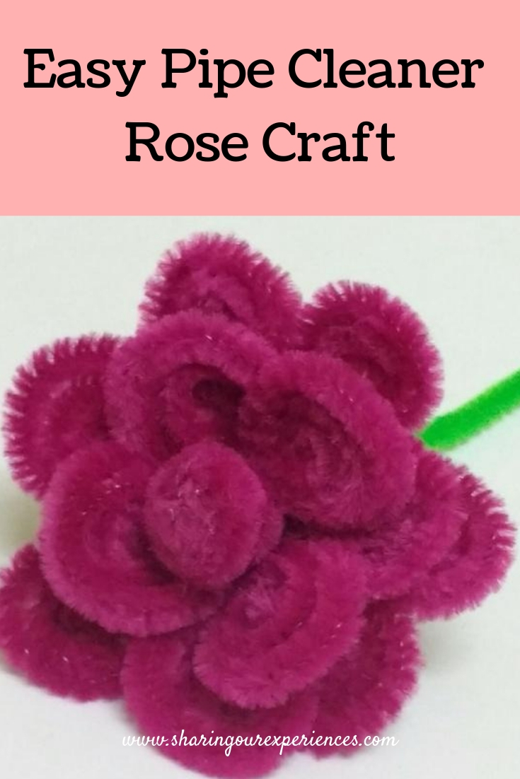 Pipecleaner rose