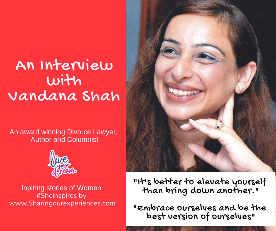 an interview with Vandana Shah