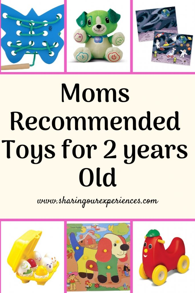 moms recommended toys for 2 year olds