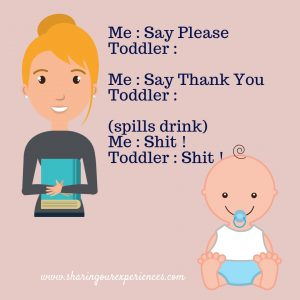 Toddler Mommy Conversation