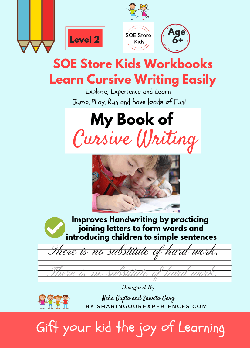 Cursive Book writing cover Book 2 Front