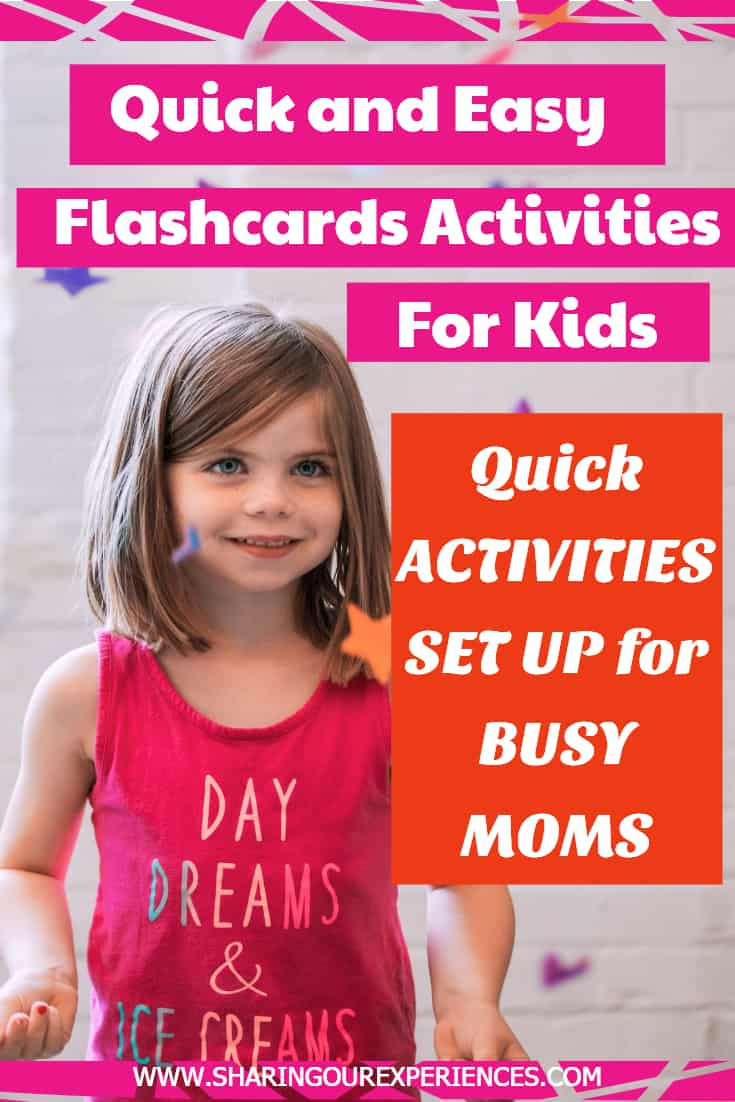 Quick and easy flashcards activities for kids. Learning activities for teaching preschoolers and toddlers. Indoor activities for summers or rainy days. Fun games with alphabets flashcards, numbers flashcards, transportation flashcards, fruits and vegetables. Preschool activities to play with toddlers at daycare and home