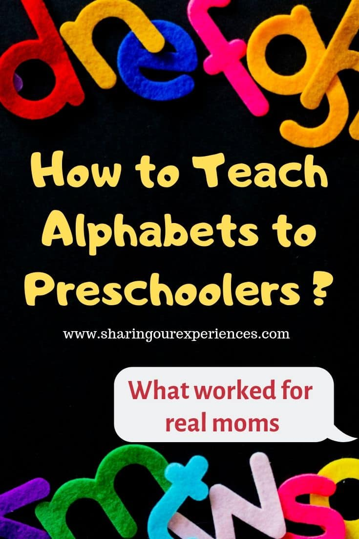 How to Teach Alphabets to Preschoolers_pin