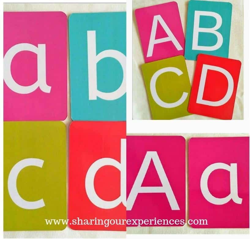 how to teach alphabets