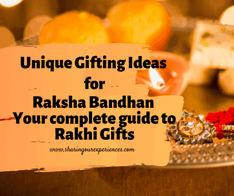 Rakhi Gift guide for married sisters brothers bhaiya bhabhi