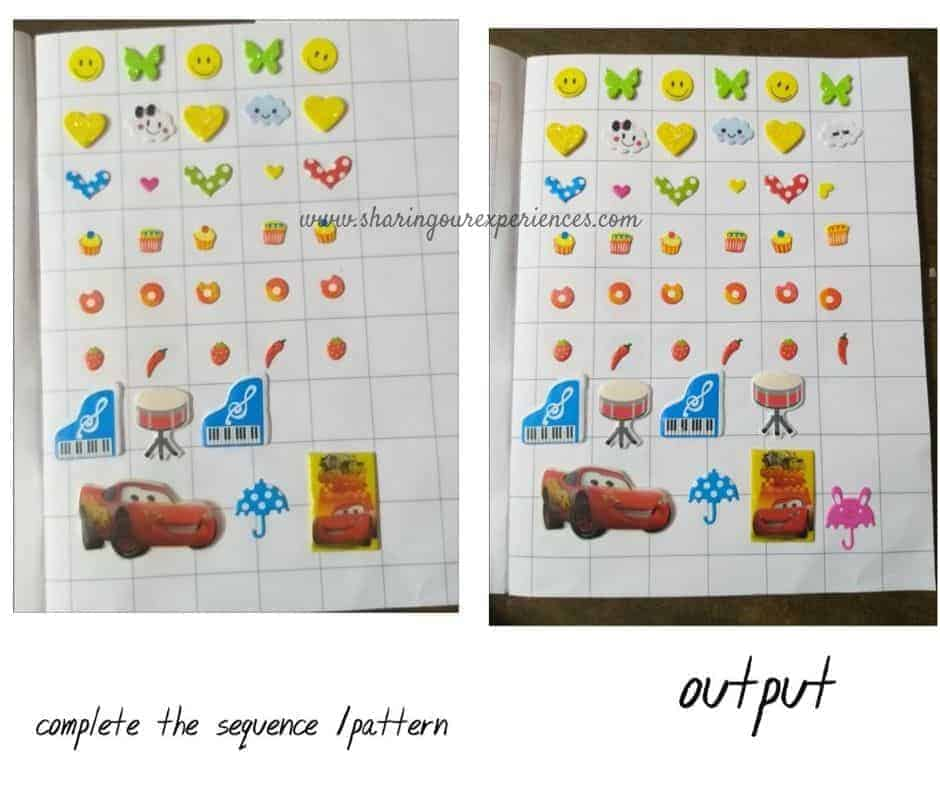 Easy stickers games for improving Visual discrimination. If you are looking for how to improve Visual Discrimination skills of preschoolers? Check out these easy Visual Discrimination activities and games for preschoolers at home that you can easily play or set up with things available at home.