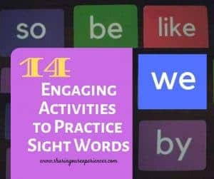 14 Engaging Activities to Practice Sight Words