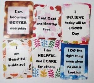 Self affirmation cards