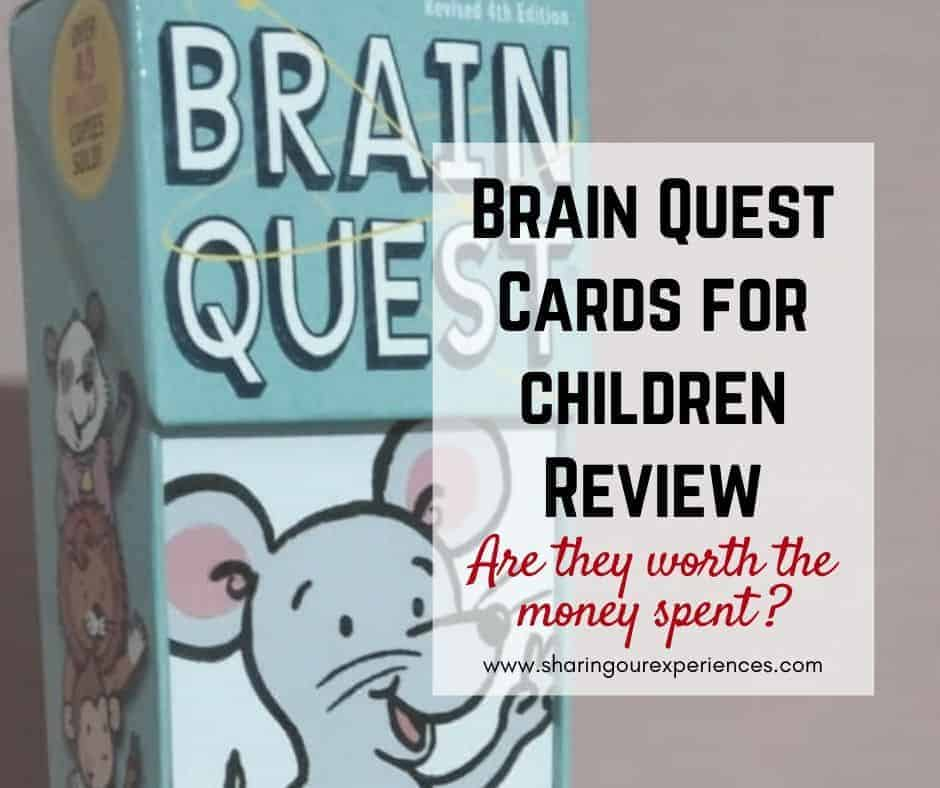 Brain Quest Cards for children Review