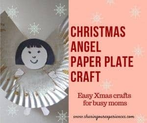 DIY Christmas Angel with Paper Plate