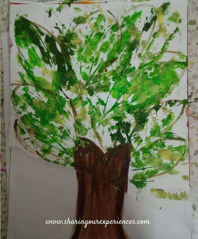 Toddler painting ideas and activities