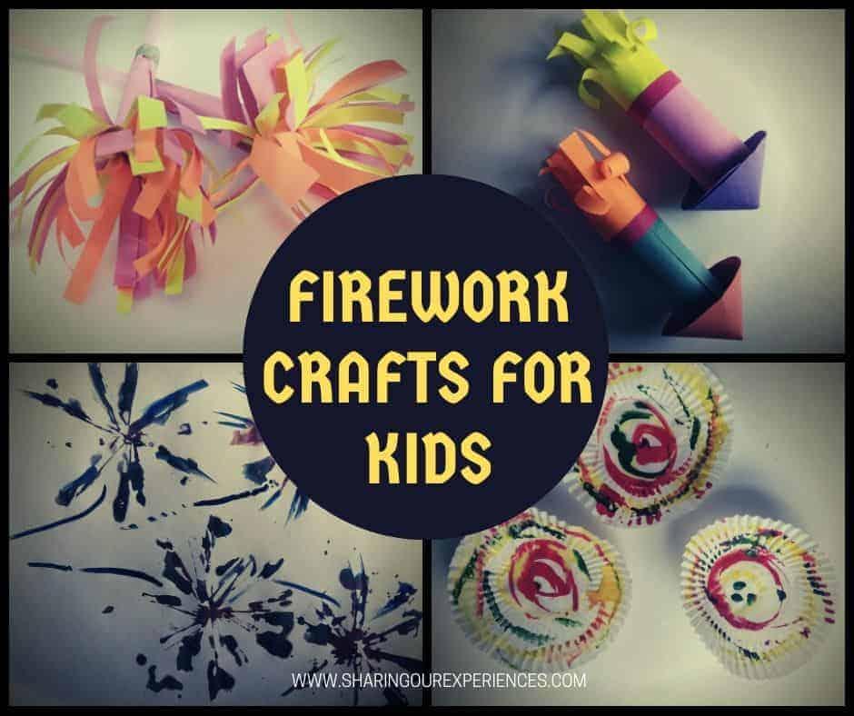 Firework crafts for kids