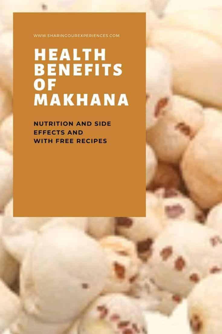 Health benefits of makhana
