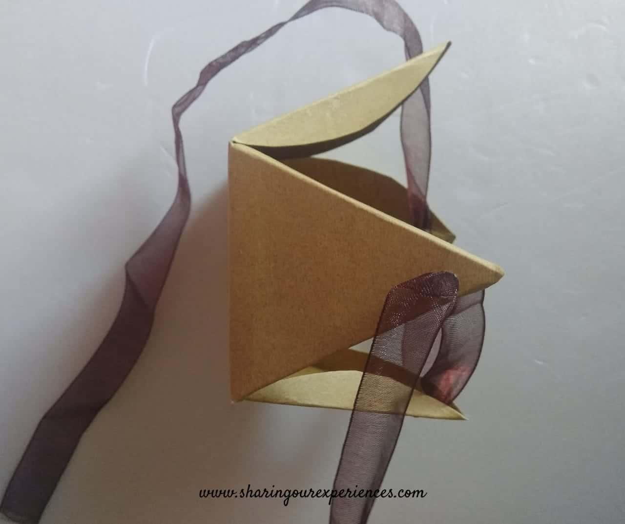 Valentines day craft gift box