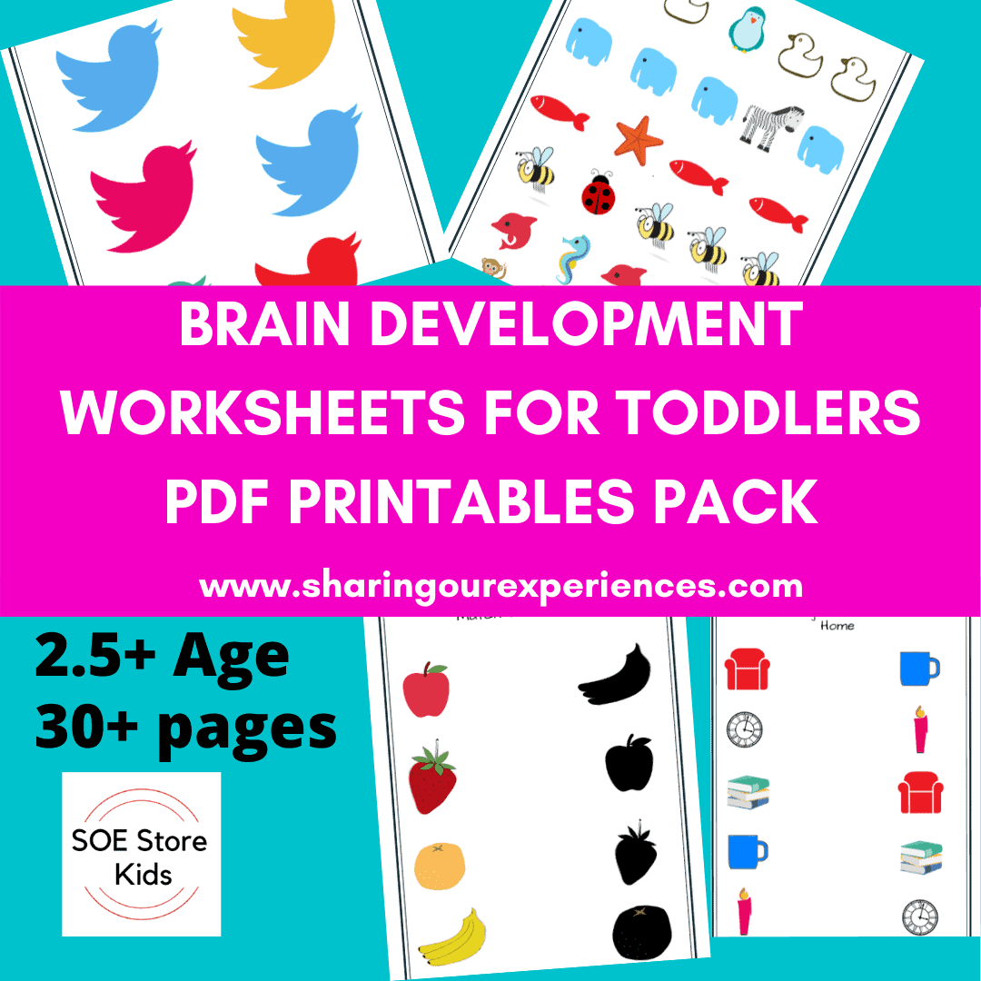 Brain development Activities for toddlers product pic