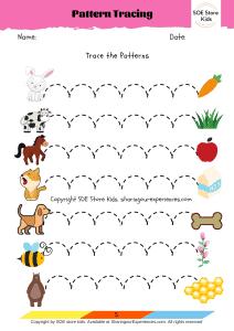 Prewriting worksheets pdf for preschoolers 3 year olds Printables for kids