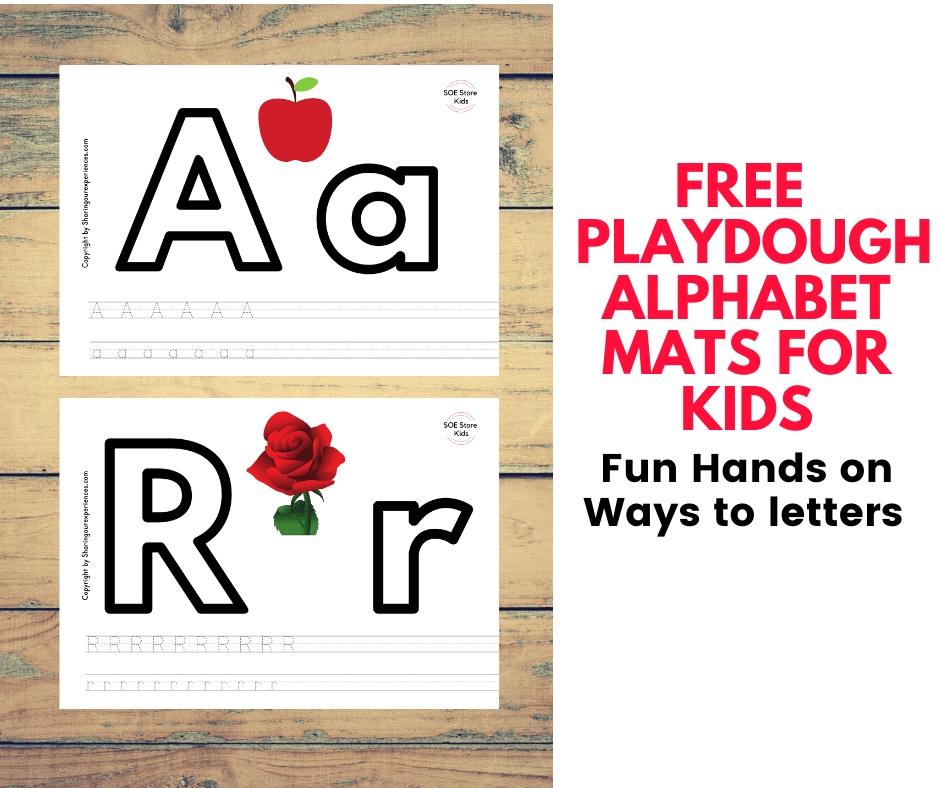 Free alphabet playdough mats printables to practice alphabet letters . For elder kids use as alphabet tracing printables . Great for learning letters of the alphabet and introduction to alphabet sounds
