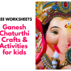 ooking for easy Ganesh Chaturthi crafts and activities to do with kids at home or in preschools? We have some easy and simple crafts and FREE worksheets that kids of all ages - toddlers, preschoolers or older ones would enjoy :-).