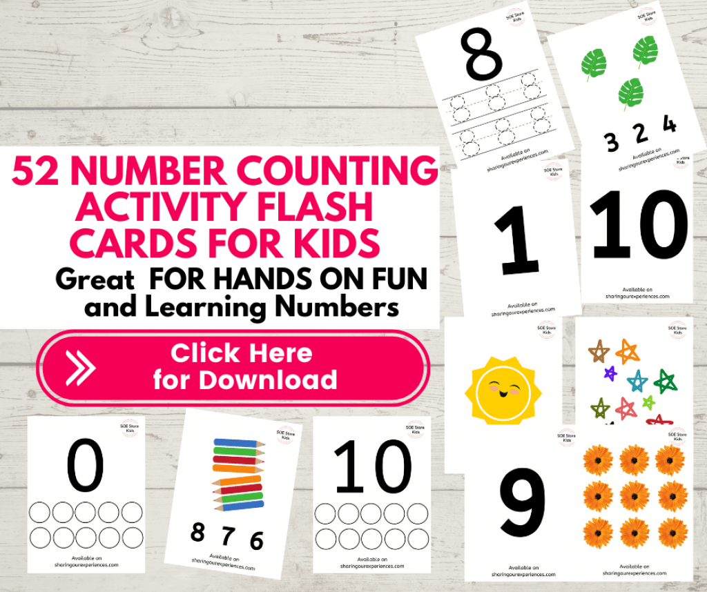 Numbers activity flashcards for toddlers preschoolers 2 year old. Reusable wipe clean flash cards for kids. Nursery kids activities