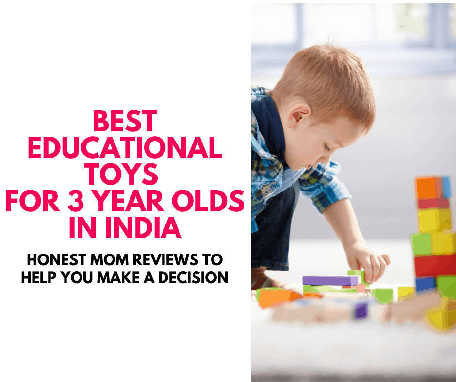 Best Educational Toys for 3 - 5 year olds in India learning toys educational games