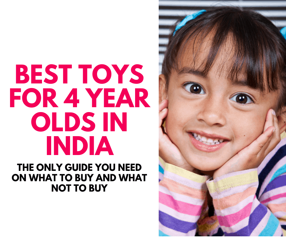 Best toys for 4 year old India - best gifts for four yearl old boys girls