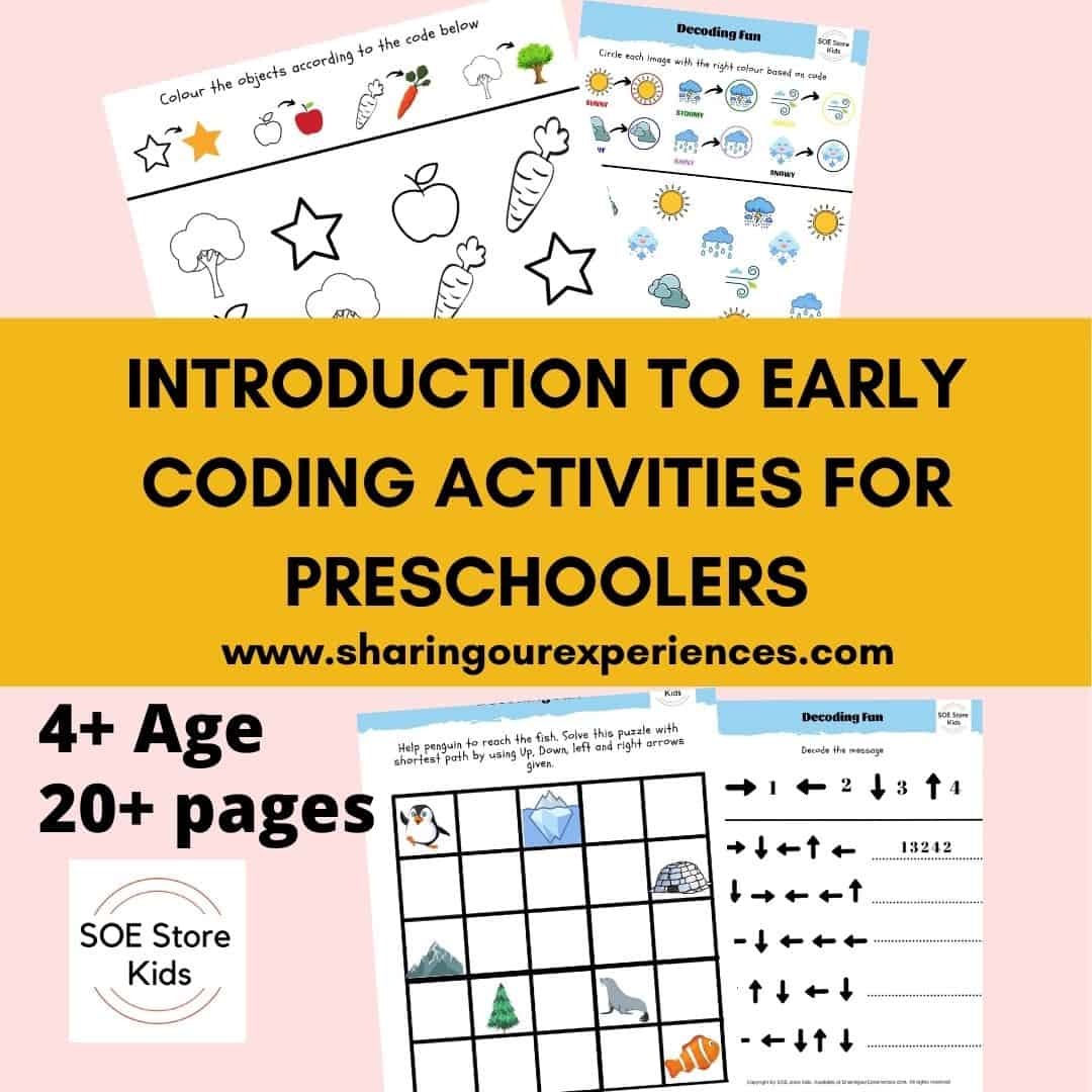 INTRODUCTION TO EARLY CODING ACTIVITIES FOR PRESCHOOLERS