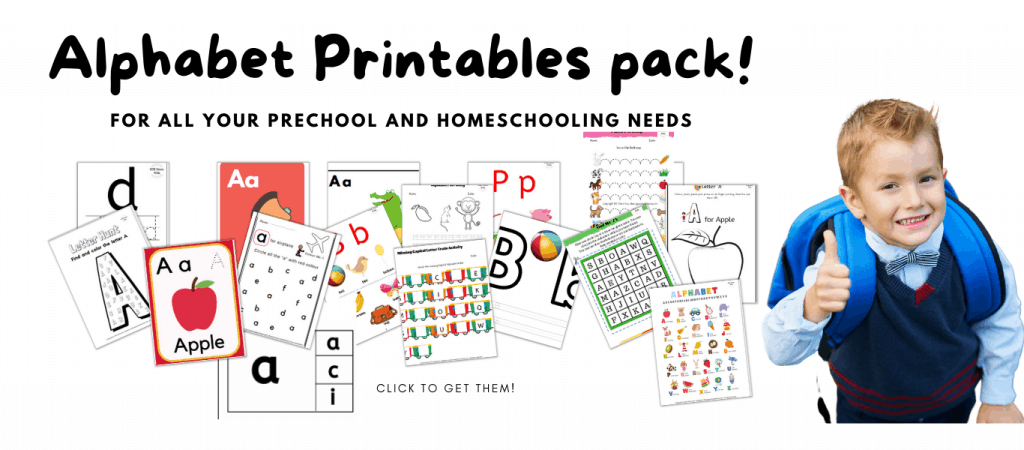 Alphabet bundle pack hands on activities for learning letters of the alphabet
