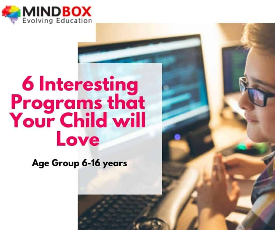 Learn coding gaming for kids with mindbox
