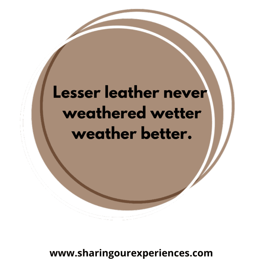 Tricky and popular English tongue twister for kids. Lesser leather never weathered wetter weather better.png