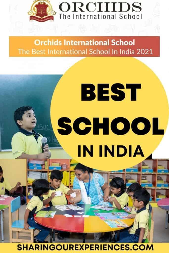 the best international schools in India 2021