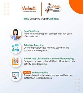 Vedantu SuperCoders Online classes for kids