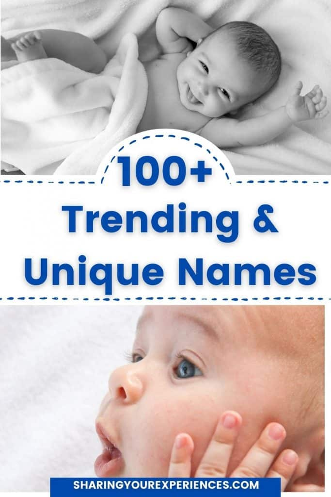 modern baby names in India