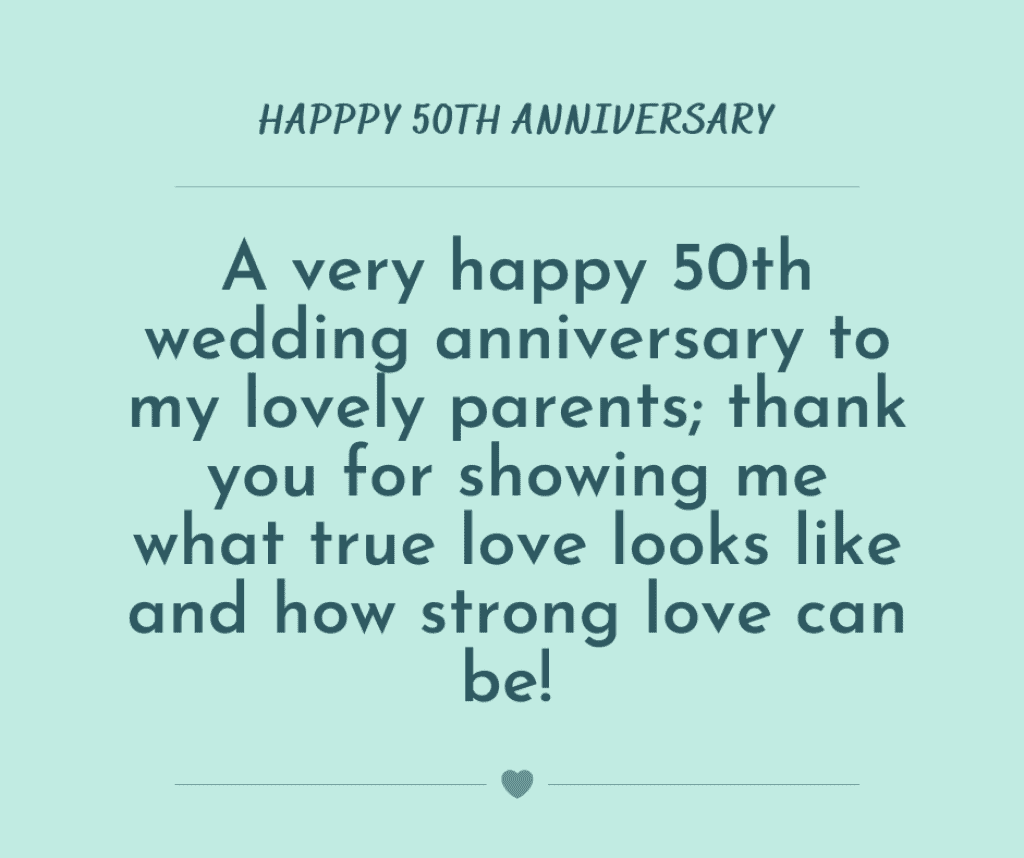 50th anniversary quotes for mom and dad