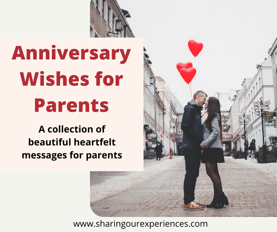 how to wish parents on their anniversary