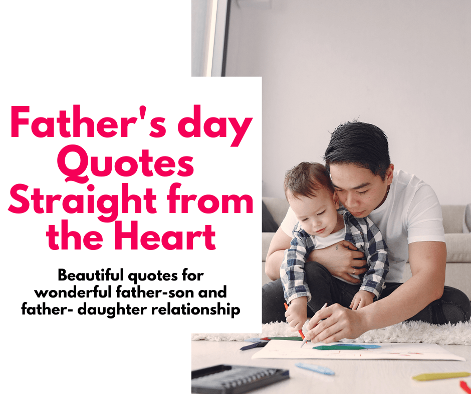 fathers day post best quotation for father and children