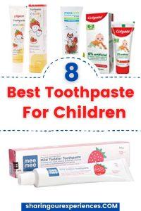 toothpaste for children