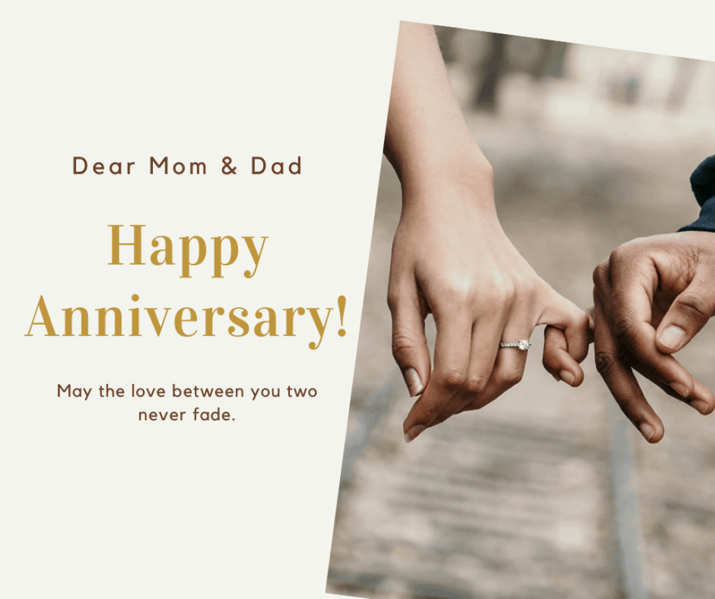 sms message for anniversary parents anniversary