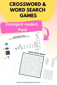 Crossword & word search games