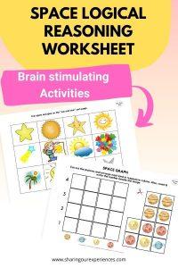 SPACE Logical Reasoning worksheet