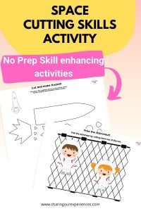 SPACE cutting skills activity