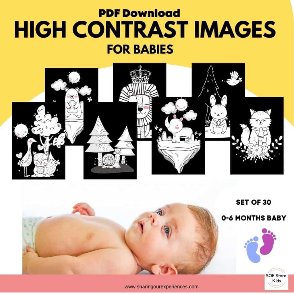 High contrast images for babies