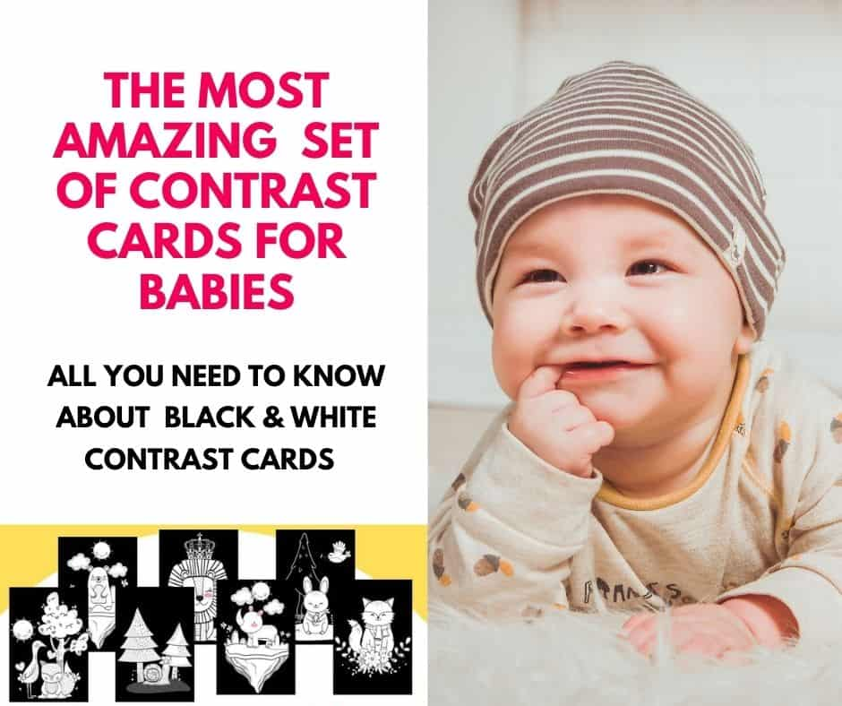 CONTRAST CARDS FOR BABIES